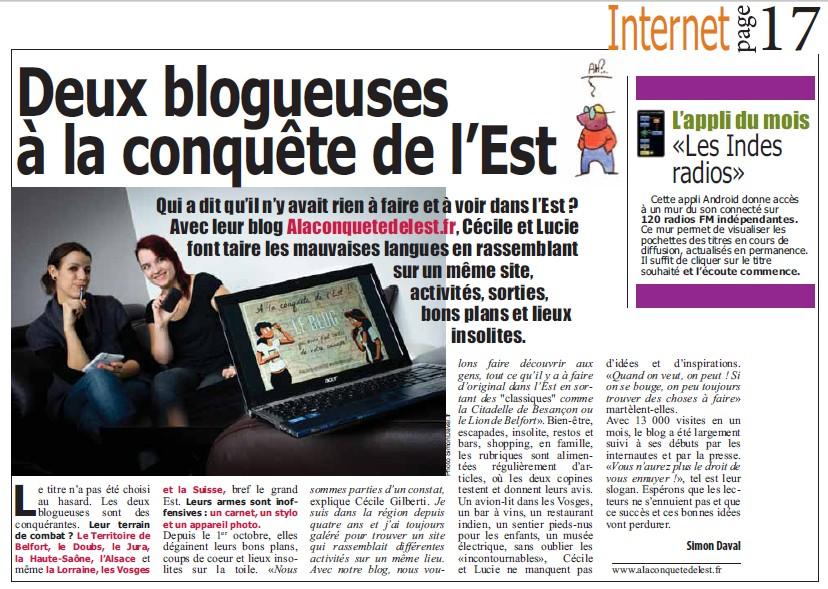 Article Topo- Novembre 2012
