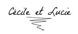Signature cecile et Lucie