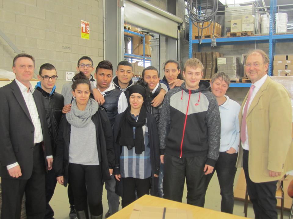 les travailleurs de L'ESAT Bartenheim