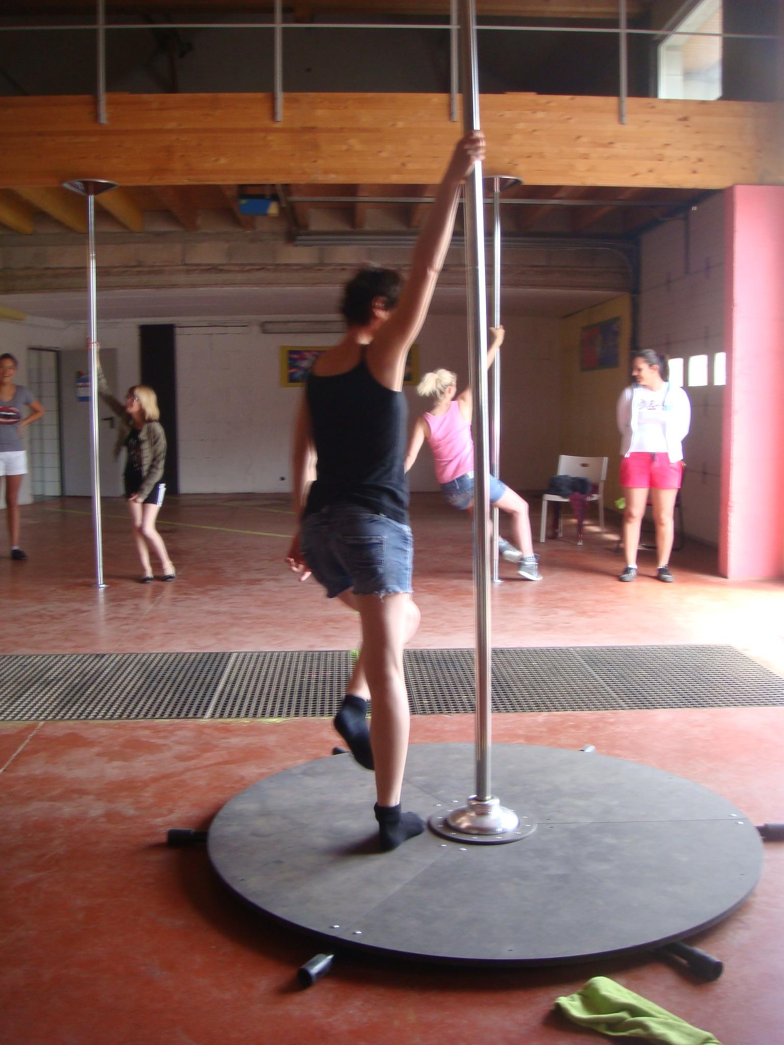 pole dance c'est dur