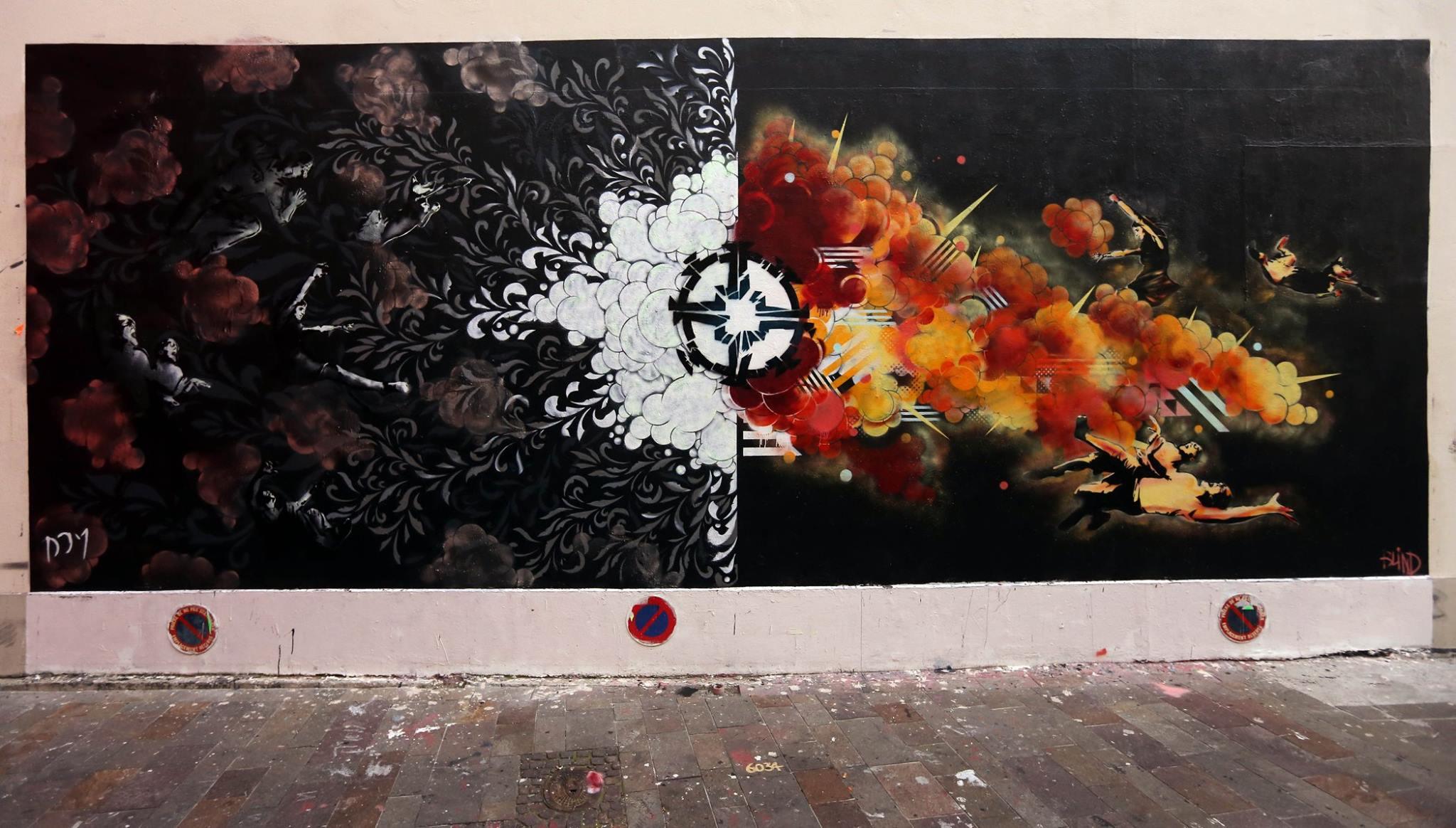 Le MUR du mois d'Aout, par Dom Poirier et et Nicolas Blind
