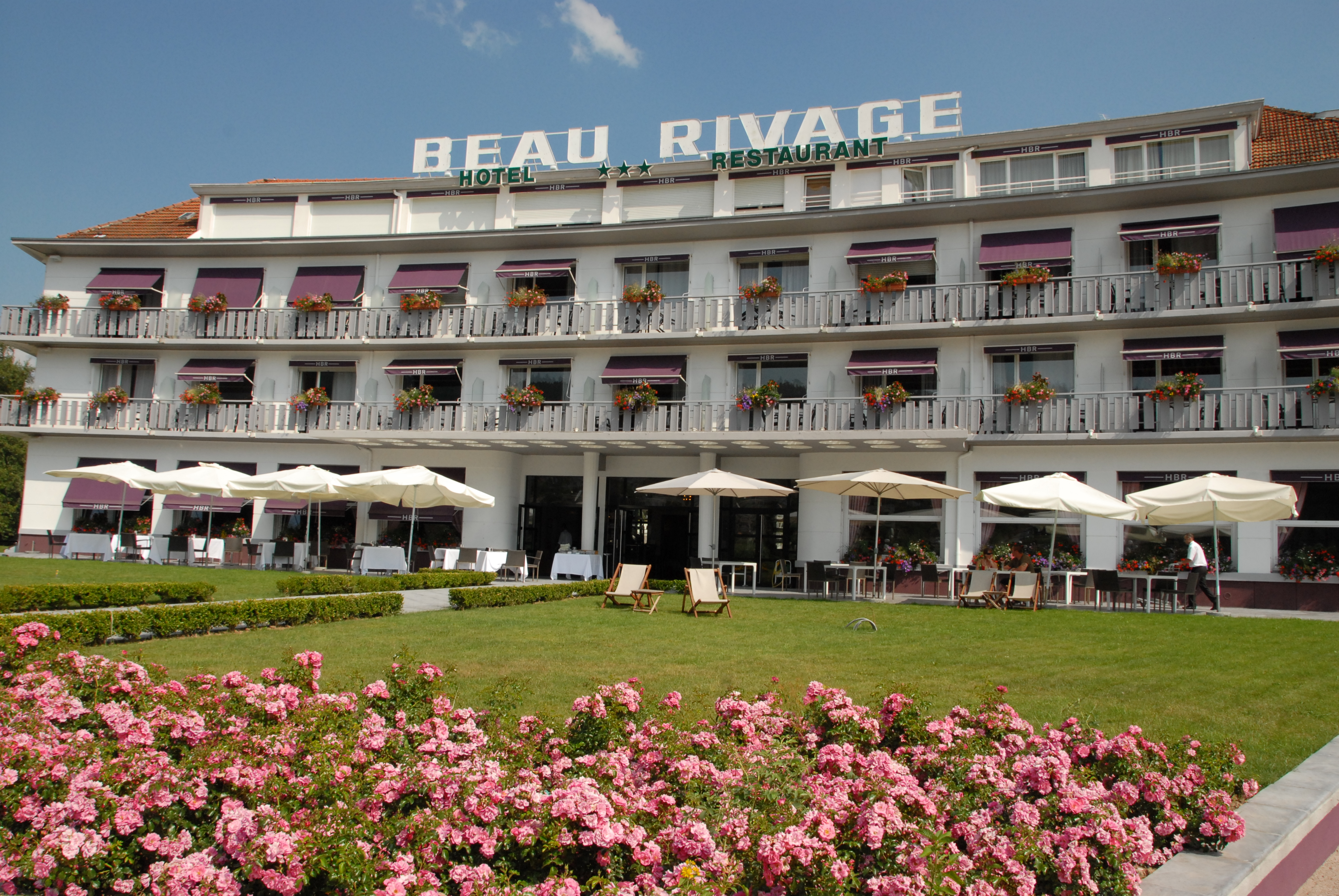 hotel et restaurant beau rivage gerardmer a la
