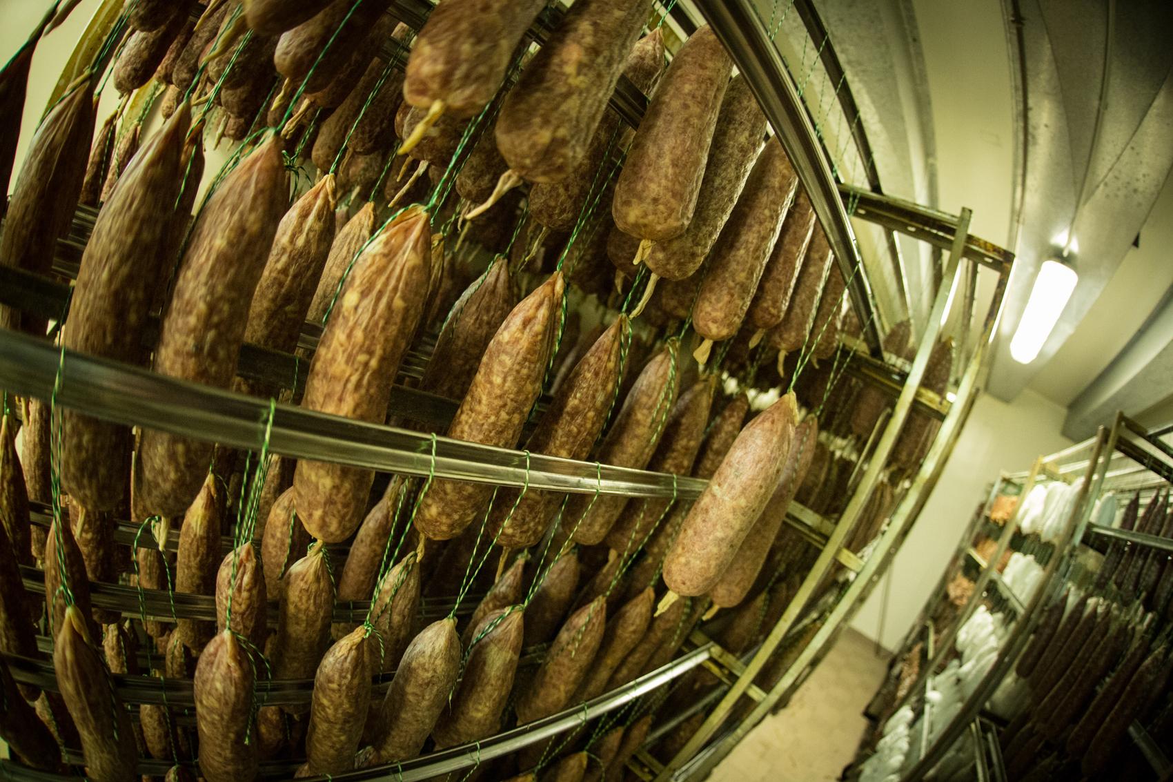 Les saucisses vous saluent depuis le Tuyé :)