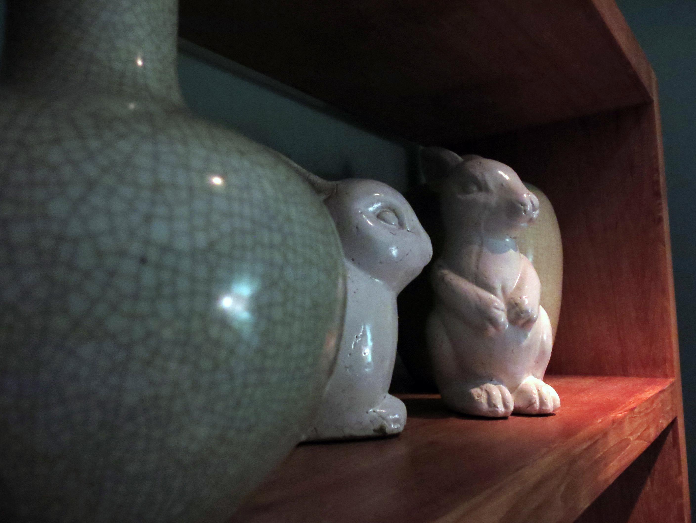 .. et les fameux lapins !