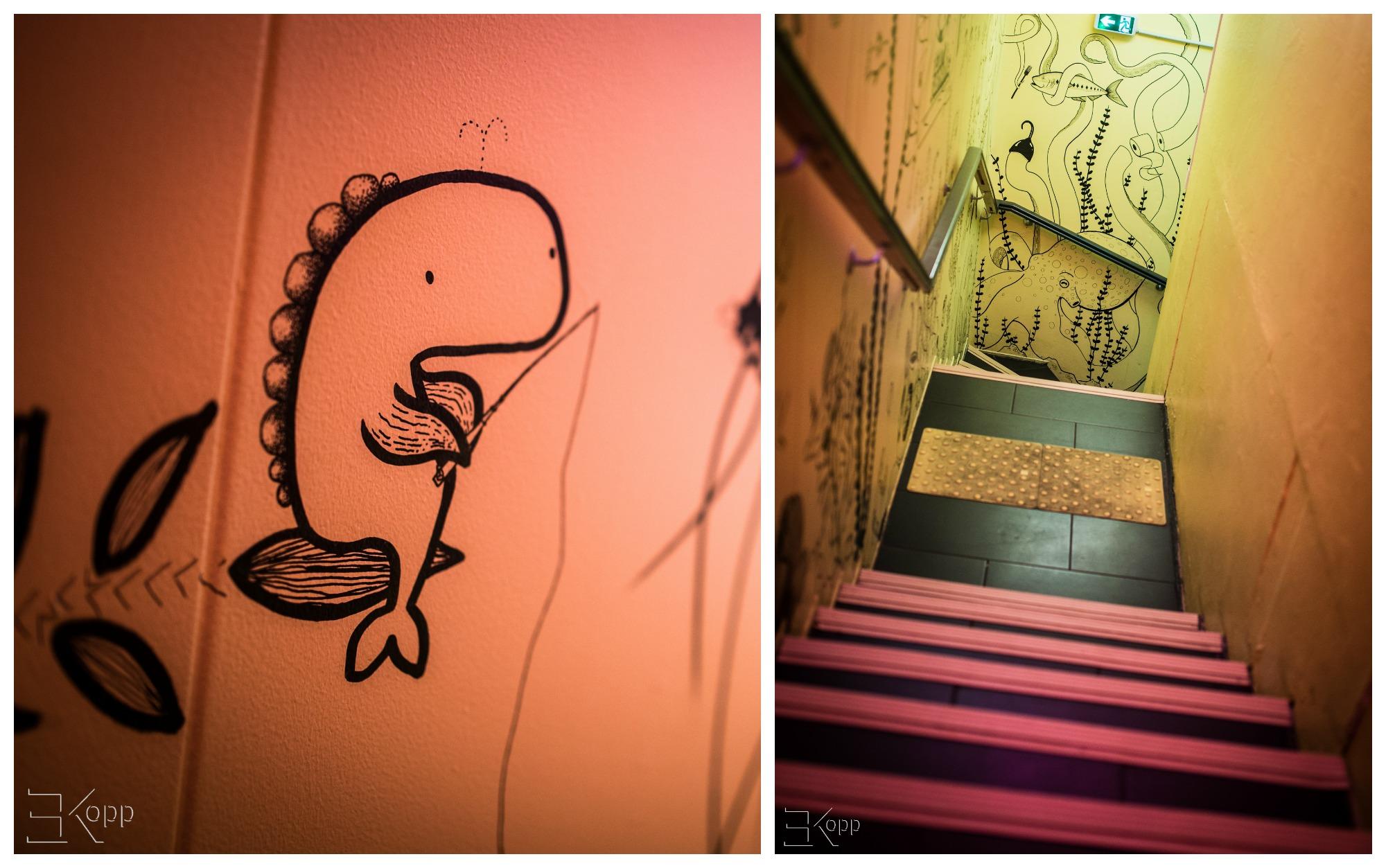 Le petit escalier qui mène à...
