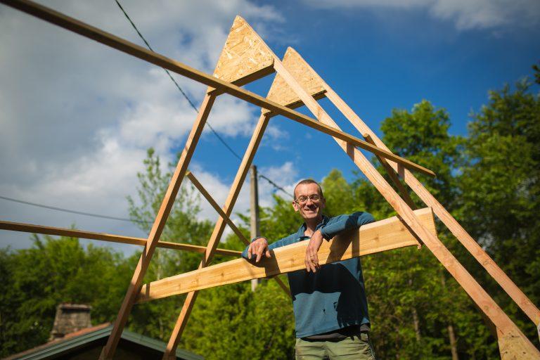 construction cabane vosges
