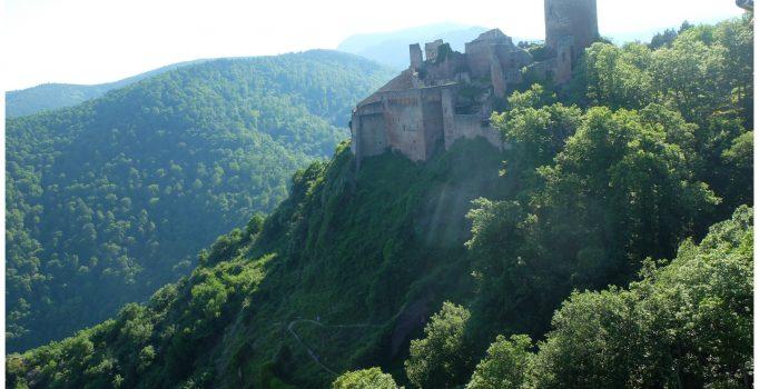 Randonnée des 3 châteaux en Alsace