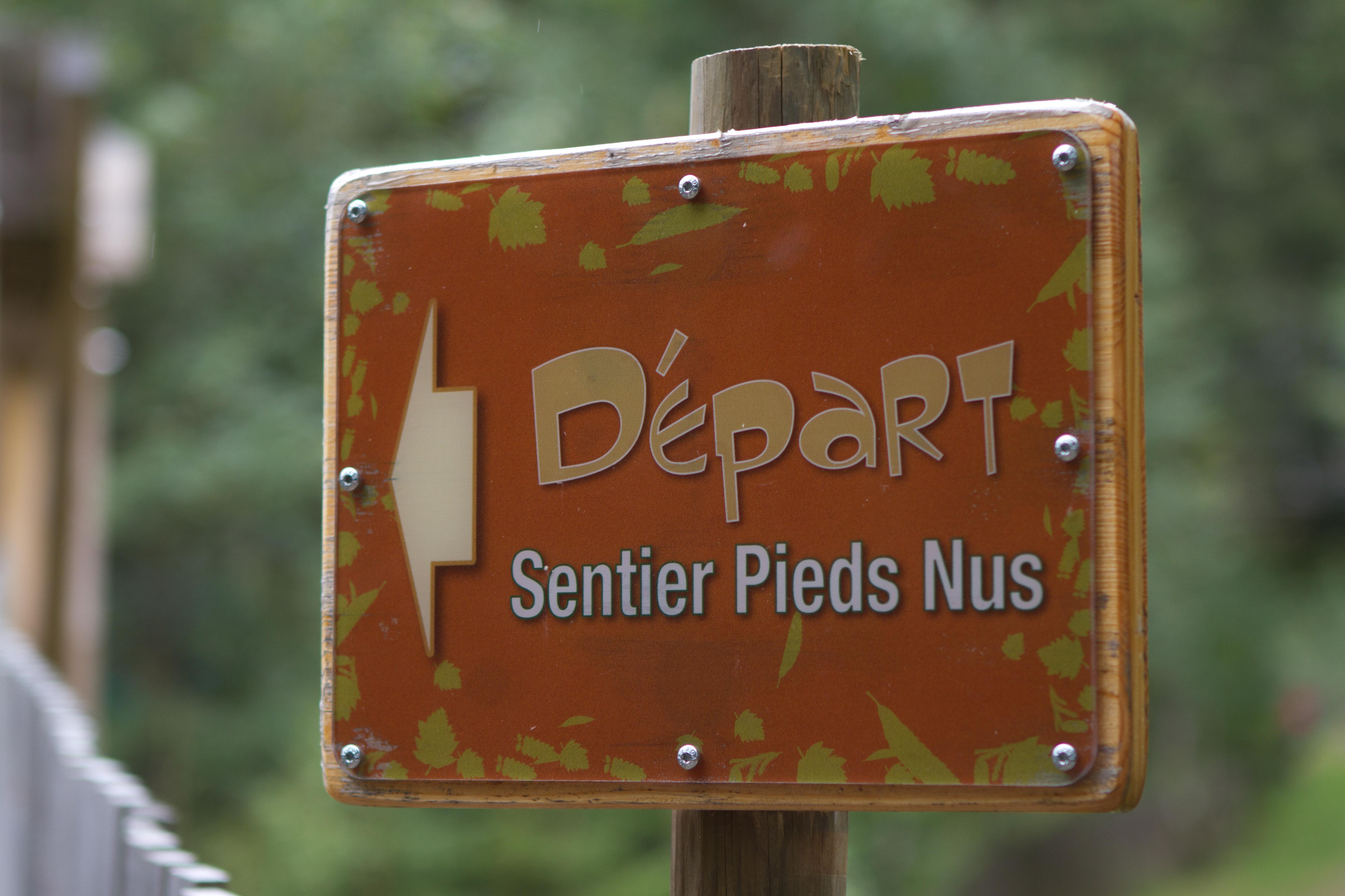 Sentier Pieds Nus du Lac Blanc - Orbey / Alsace