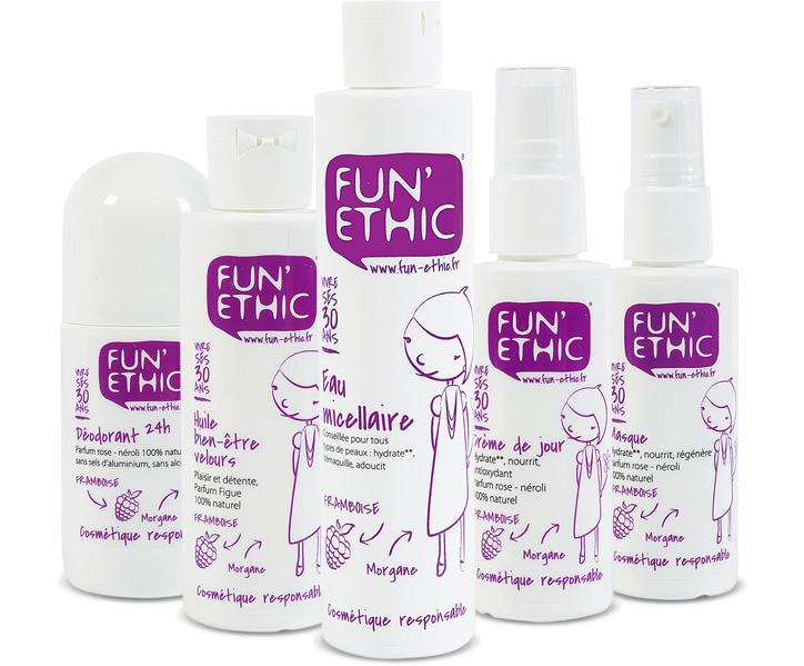 121617d5ce0 Fun Ethic - Les cosmétiques Bio pour toute la famille ! - A la ...