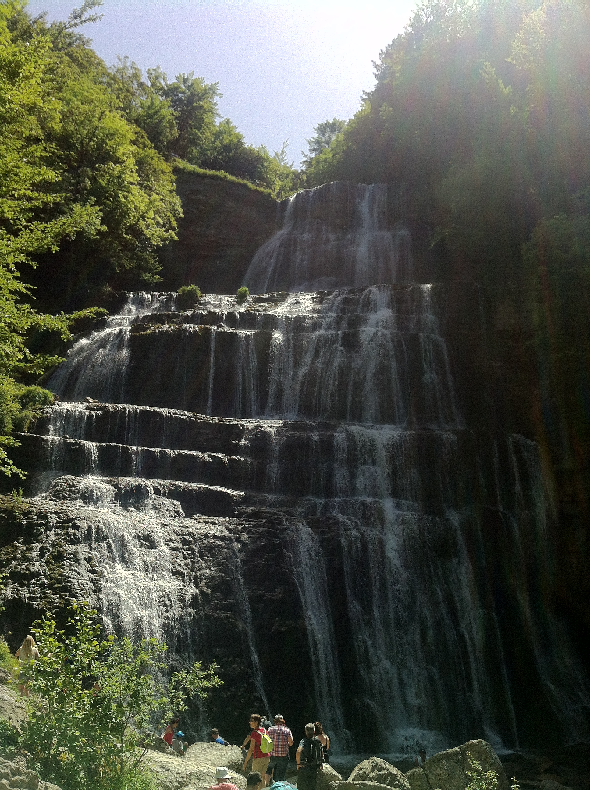 Les Cascades du Hérisson - Jura