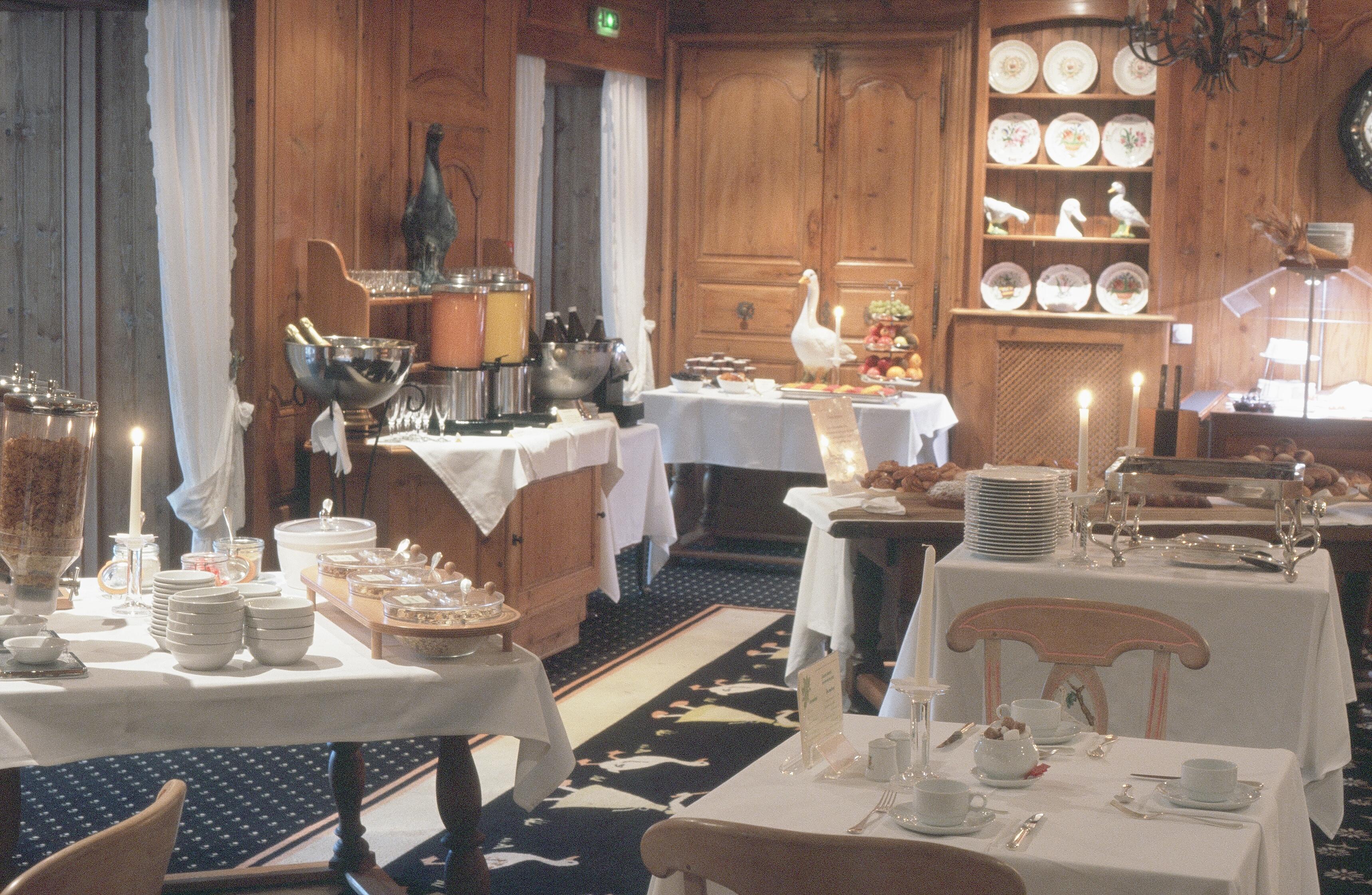 Hostellerie La Chenaudière - Le Restaurant
