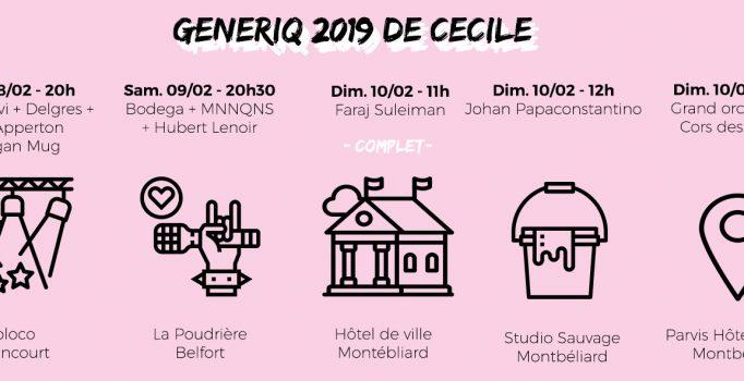 Festival GéNéRiq à Belfort et Montbéliard, on en rate pas une miette !